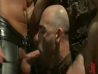 Bold Sexy Guy With Firm Body Getting His Ass Penetrated The Hard Way