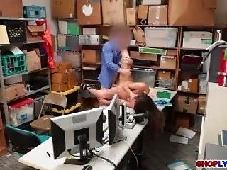Shane Blair Fucked And Punished For Shoplifting