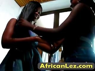 Horny African Lesbians Sajeda And Fatima Are More Than Ready For A Baththey Enjoy Washing Each Others Sexy Bodies In A Bathroom