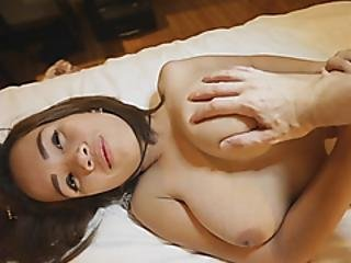 Busty Asian Beauty Is Addicted To Handling Cock