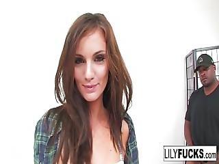 Lily Carter Interracial Fuck
