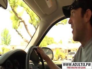 Smoking Mother Brooke Adams Gives Handjob Well Touching Step Son