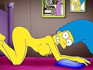 Cartoon Porn Simpsons Porn mom masturbate