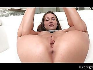 Sexy Teen Rubbing And Fingering Slick Cunt