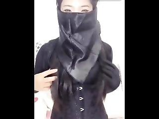 Mask Fetish With Chinese Girl On Webcam 02