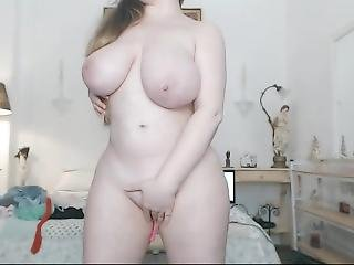 Sexy Chubby Girl Big Tits Solo Masturbation Live Sex Show