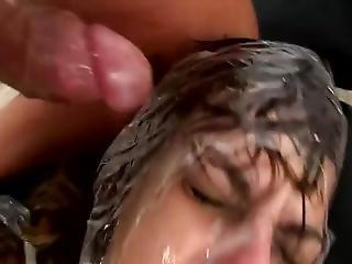 pijp, bondage, brunette, jurk, vuisten, hardcore, italiaans, milf, publiek, ruw, sex