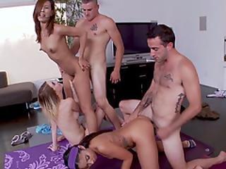 babe, stor kukk, bisexuell, blowjob, knulling, gruppesex, orgy, sex, små pupper, Tenåring, trening, jobbsted, yoga
