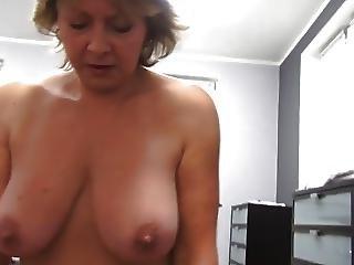 Czech Mature Pov 53yo Blowjob Fuck And Cumming On Big Boobs