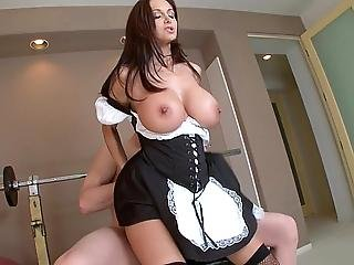 Babe, Blonde, Brunette, Ffm, Fucking, Hardcore, Home, Maid, Milf, Reality, Threesome, White