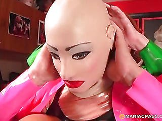 Blonde, Doll, Fetish, Mature, Rubber