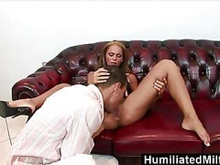 Humiliatedmilfs  Krisztina Makes Her Ass Gape For A Massive Dick