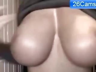 College Girl Boob Bouncing Webcam - Watch Part2 On 26cams.com
