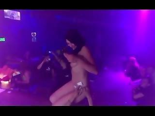 Big Tits Dancer Is 100% Certified