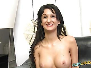 Brunette Talking Sex