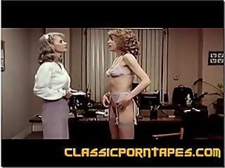 Blond, Classy, Knulling, Lesbisk, Kontor, Retro, Strap-on, Vintage, Jobbsted