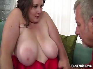 Beautiful Bbw In Lingerie Stockings Hard Fucked