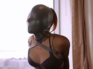 bondage, fetish, japansk, lær