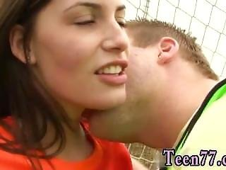 Busty Brunette Cougar Seduces Dutch Football Player Porked By Photographer