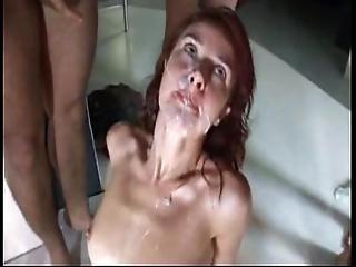 seks grupowy, orgia, impreza, sperma, dziwka