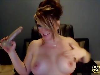Adorable Busty Milf To Masturbate And Squirt All Over