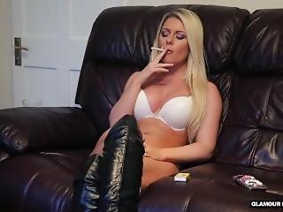 Mikaela Witt Smoking