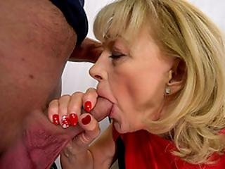 70 Year Old Suzana Moans While Being Licked By Victor