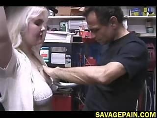 Bondage Newbie Liz Gets Tormented