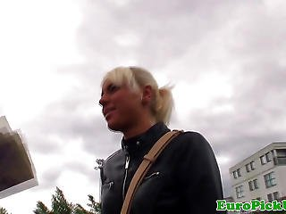 Publicsex Euro Jizzed On After Sucking