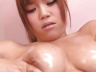 Big Tits Nene Azami Plays With Her Pussy In Raw Solo
