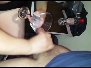 Bukkake. I Swallow All The Cum. Sperm Cocktail. Great Gokkun