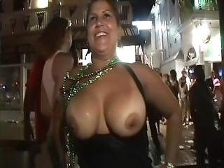 Wild Party Girls Naked In Public