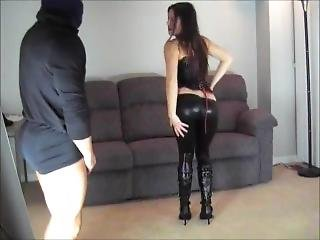 Busting His Balls With My Booty Part 1