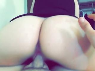 Girl Wth Fat Ass Rides Dick Well