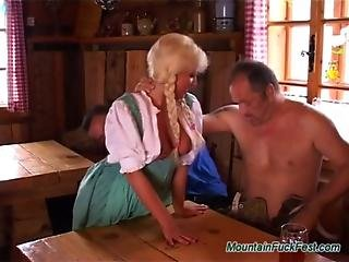German Heidi Loves Rough Dp