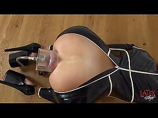 Female Anal Pumping With Forced Prolapse-rosebud