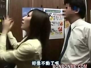 πίπα, ανελκυστήρας, χοντρή, ιαπωνικό, σχολείο, έφηβη