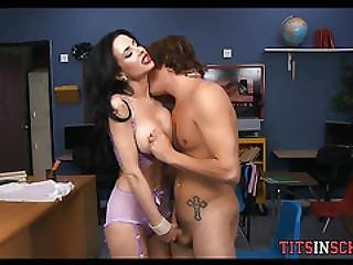 Cougar Teacher Seduces Her Teen Student