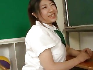 Yuri Hirayama Busty Schoolgirl Fucking At School