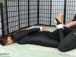 Irina Being Hogtied