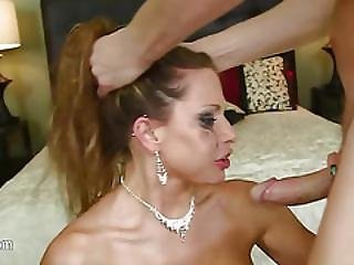 Really Nasty Hooker Penetrated Into Her Mouth