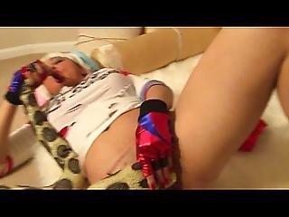 Harley Quinn Masturbating