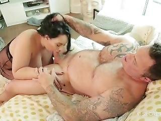Maid Anastasia Lux Sucks And Fucks Seth Strongs Big Dick