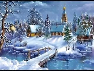 russe, neige