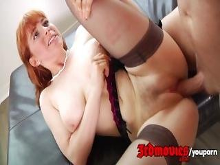Hairy Redhead Penny Pax Getting Hammered