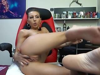 Jeyssy69 Relaxed Smoking And Pussy Play / Tease