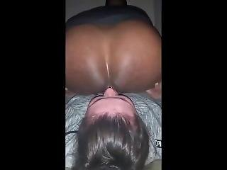 Latina Rimming Schwarzer Arsch