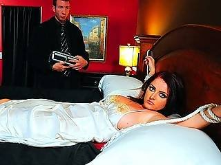 Exorcist Spoof Big Tit Babe Sophie Dee Tied Down And Fucked Hard