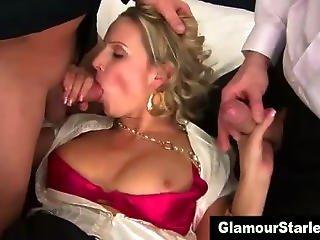 Sexy Hot Glam Dp Slut