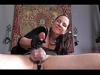 Cfnm, 精液をショット, 顔に座る, Femdom, 手淫, 愛人